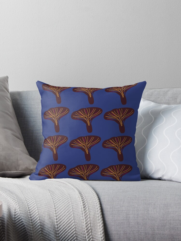 Design baobabs on blue by Bee and Glow Illustrations Shop