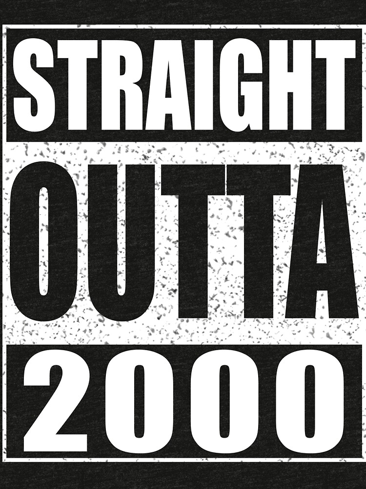 Straight outta 2000 by deepstone