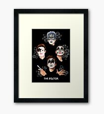 Best Kiss From the Doctor Framed Print
