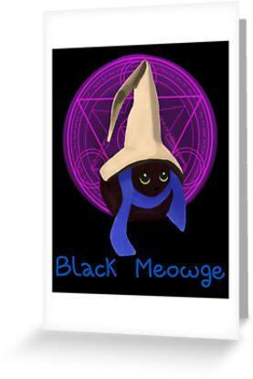 Black Meowge by Sibyl  Ivy