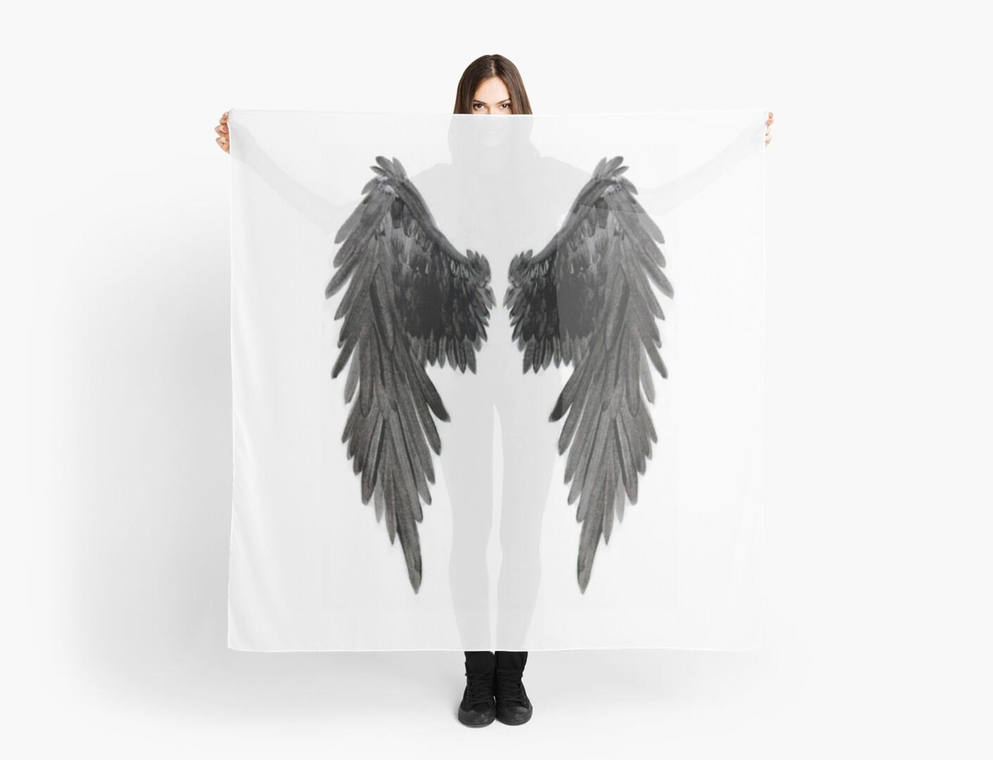 Pañuelos «Alas de Bad Angel» de atlasartsn | Redbubble