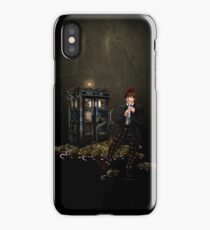 The Legend of the Flute iPhone Case