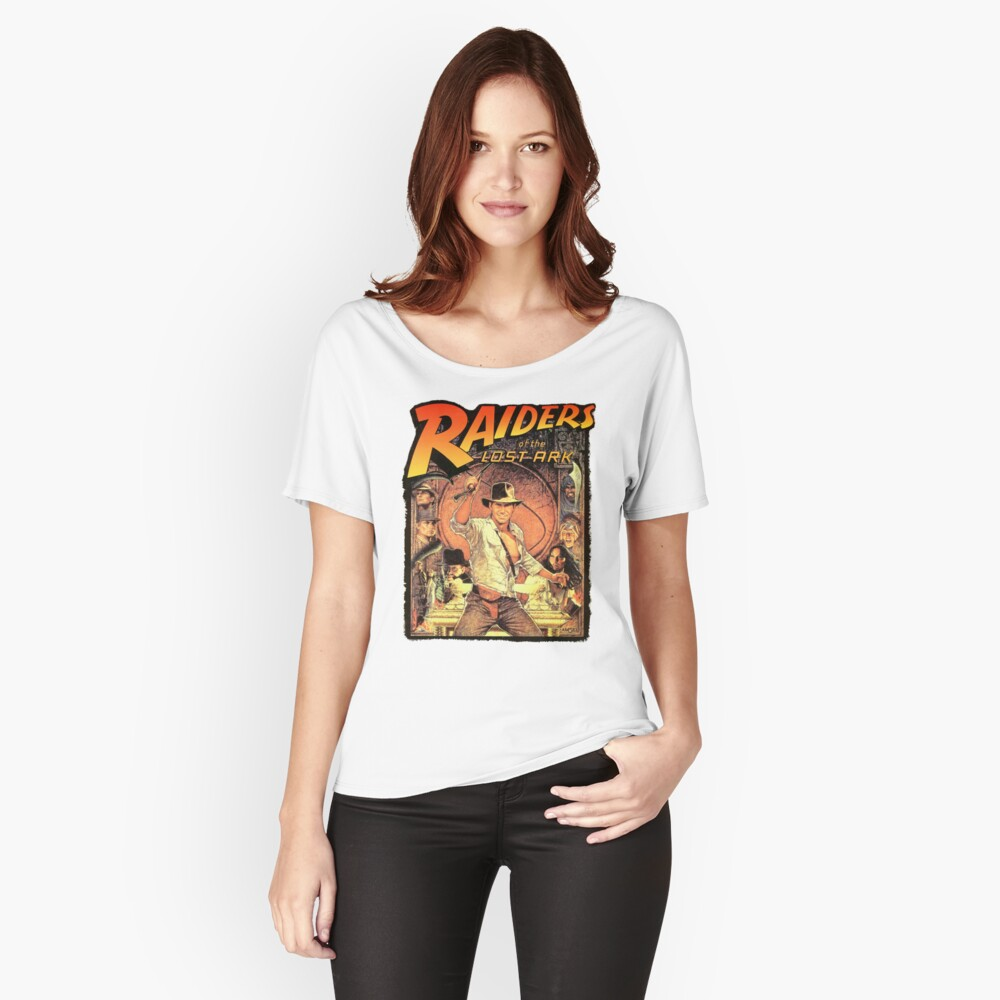 Raiders of the Lost Ark Women's Relaxed Fit T-Shirt Front