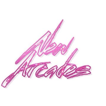 New Arcades - Neon Logo by NewArcades