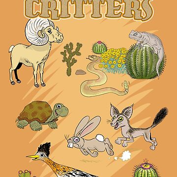 Palm Springs Critters by Lines