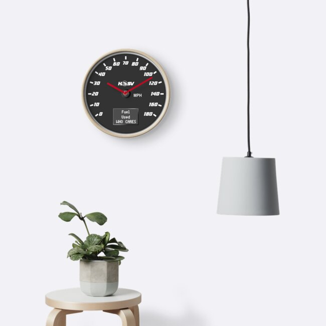 Speedo Clock by PetrolHeads