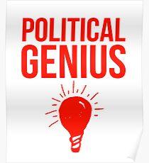 A Political Genius Poster
