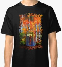 13th Doctor is Coming oil paintings Classic T-Shirt