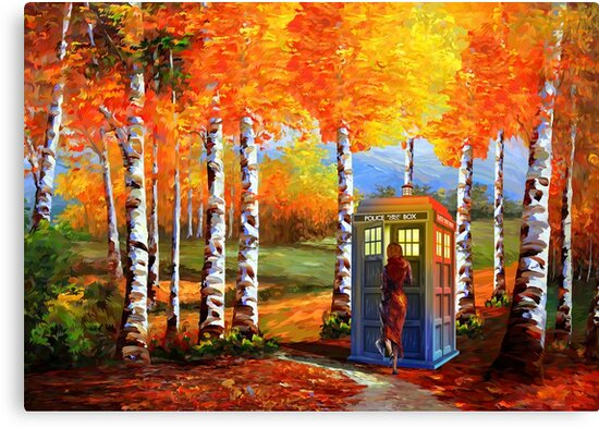 13th Doctor is Coming oil paintings by ADZKIYYA DESIGN