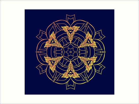 Mandala by Elena-Afa