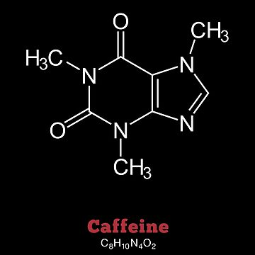 Caffeine, formula and structure by nametaken