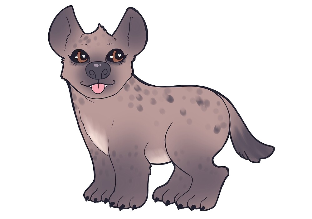 Hyenas are Cute Too by lady-amaranth