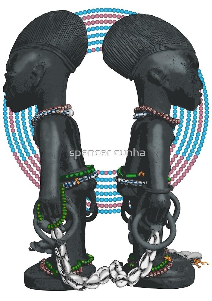Art Yoruba Ibeji by spencer cunha