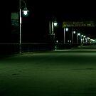 Belmont Veterans Memorial Pier by aaronarroy