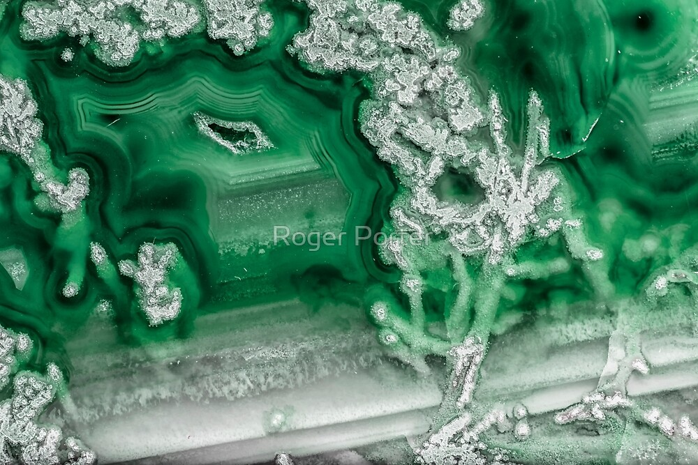 Green Agate #1 by Roger Porter