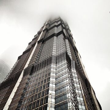 Hong Kong Sky Scrapper  by Ilucim