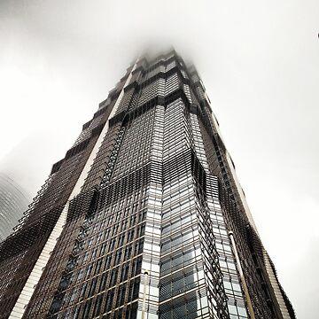 Hong Kong Sky Scrapper  by Ilucim