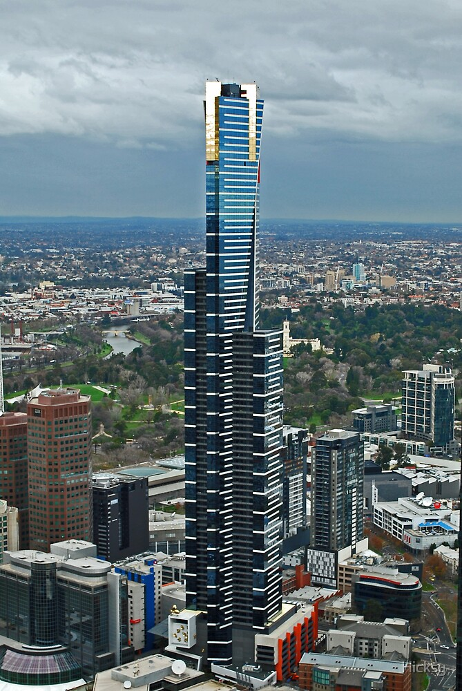 Eureka Tower by Hicksy