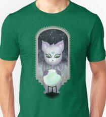 Mystic Miku | Crystal Ball & Zodiac | Teal Slim Fit T-Shirt