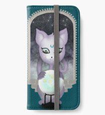 Mystic Miku | Crystal Ball & Zodiac | Teal iPhone Wallet/Case/Skin