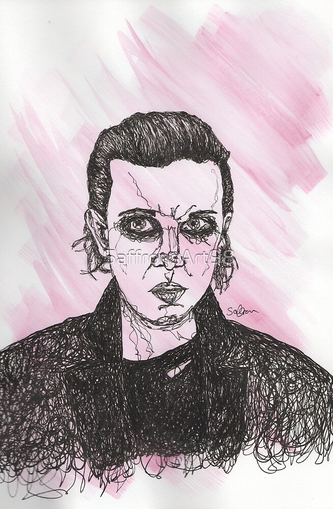 Eleven - Stranger Things by SaffronsArt98