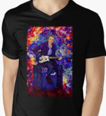 12th Doctor Abstract Men's V-Neck T-Shirt