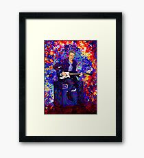 12th Doctor Abstract Framed Print