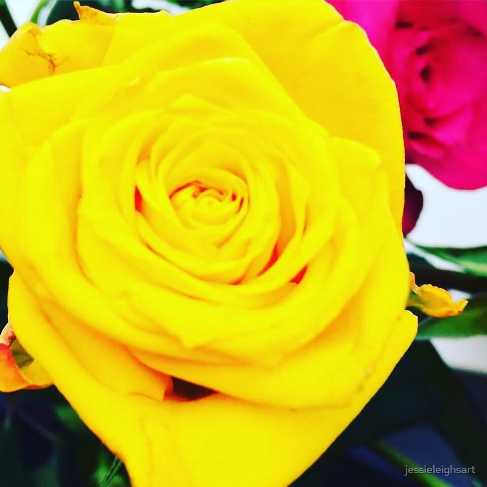 FLOWER POWER BANGS by jessieleighsart