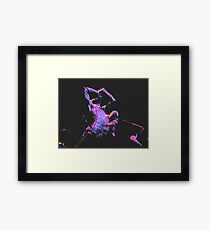 up my sleeves Framed Print