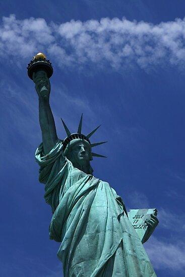The Statue of Liberty New York City by WayneOxfordPh