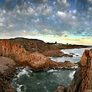 Port Stephens Pano by Annette Blattman