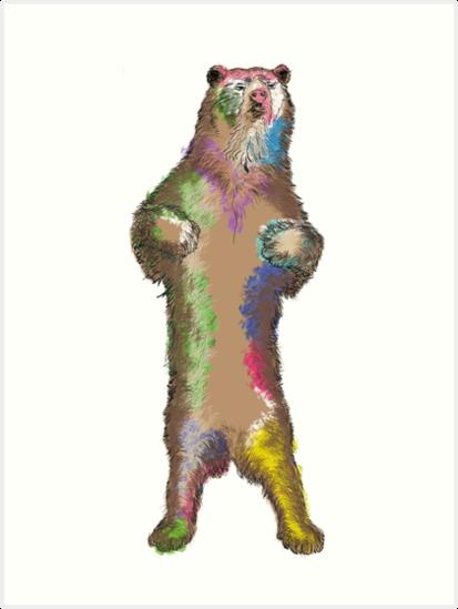 Bear raised by dlmy