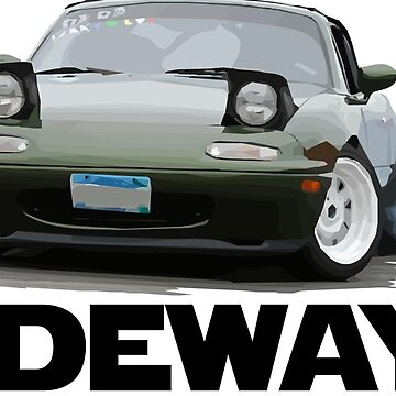 Mazda Miata / MX-5 - Drifting Slideways by mudfleap