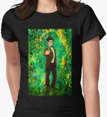 11th Doctor Abstract Women's Fitted T-Shirt