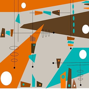 Mid-Century Circles and Rectangles by gailg1957