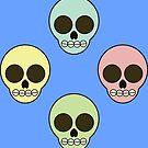 Skulls in the backyard by GaffaMondo