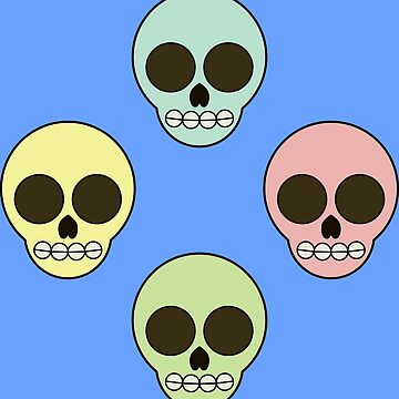 Skulls in the backyard by GaffaMondo