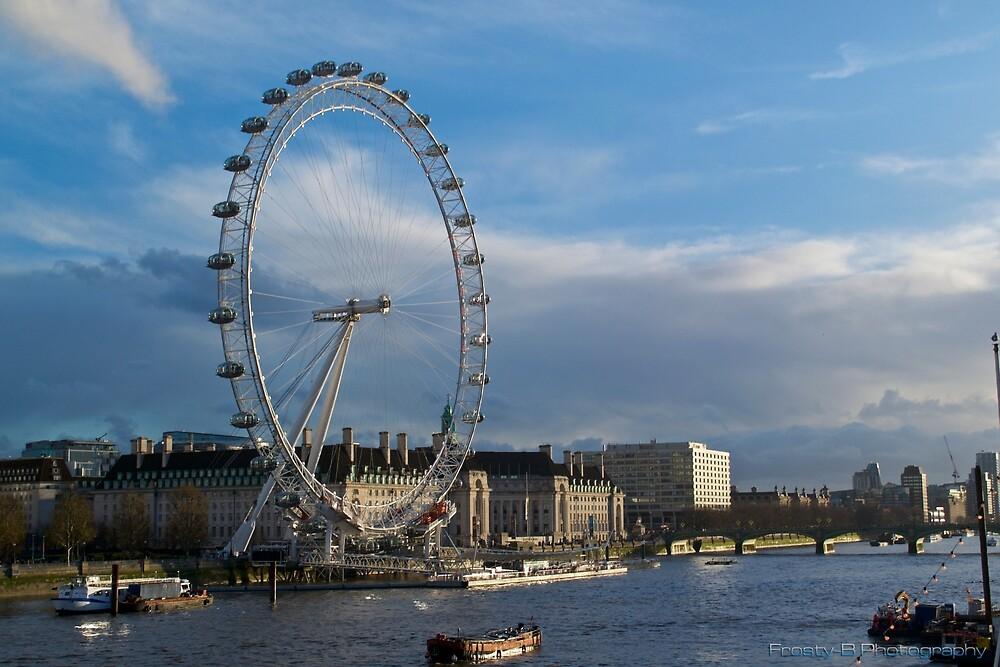 The London Eye. by jfrosbutter