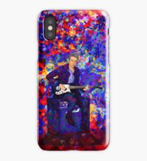 12th Doctor Abstract iPhone Case/Skin