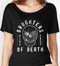 Daughters Of Death - Biker Design Women's Relaxed Fit T-Shirt