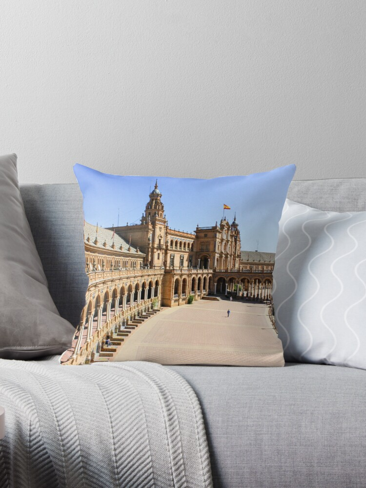 Plaza de Espana, Sevilla, Spain, Europe by Seller2018KF