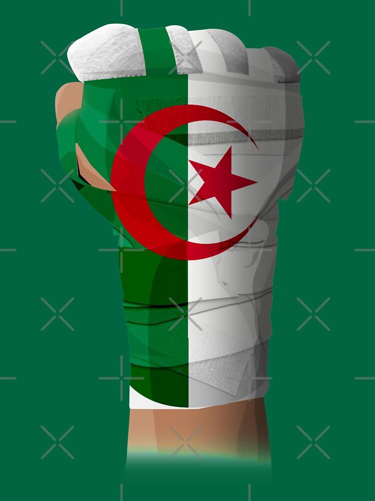 ALGERIA FIGHTING PRIDE  by cinimodfx