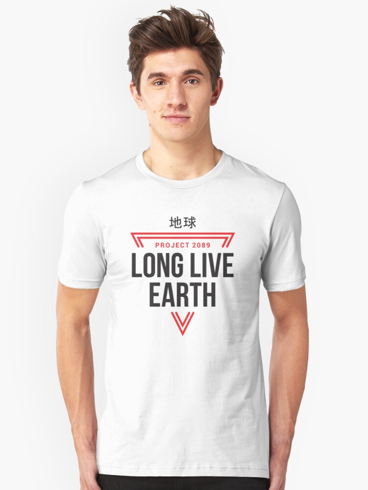 Long Live Earth Unisex T-Shirt Front