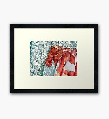 ~ rejuvenation flow ~ Framed Print