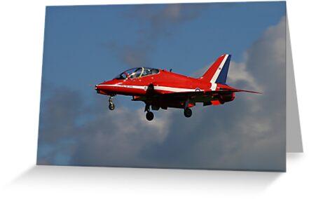 Red Arrow Landing by SWEEPER