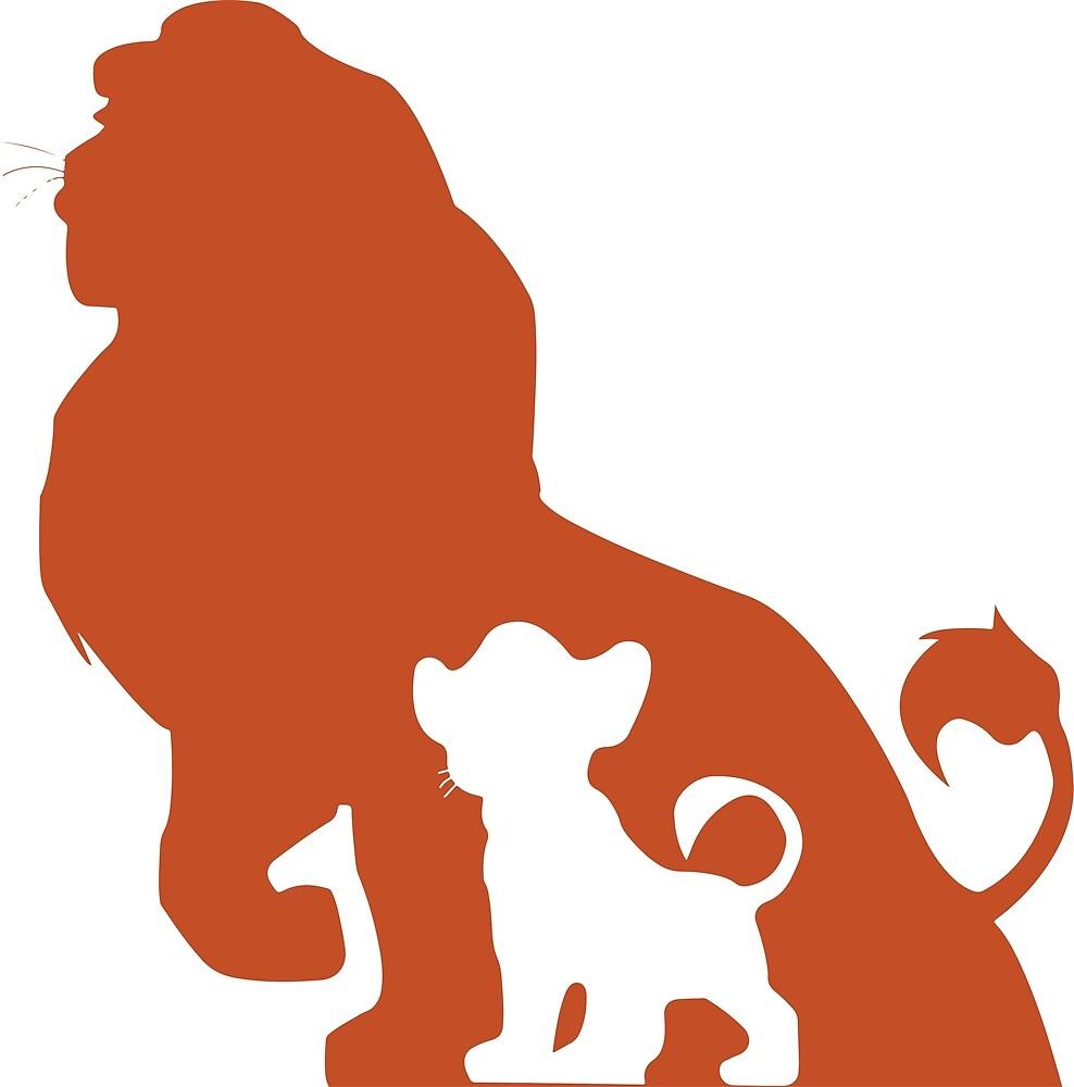 Lion King by MrPastelDesign