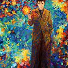time lord with screwdriver Abstract by ADZKIYYA DESIGN