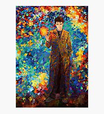 time lord with screwdriver Abstract Photographic Print