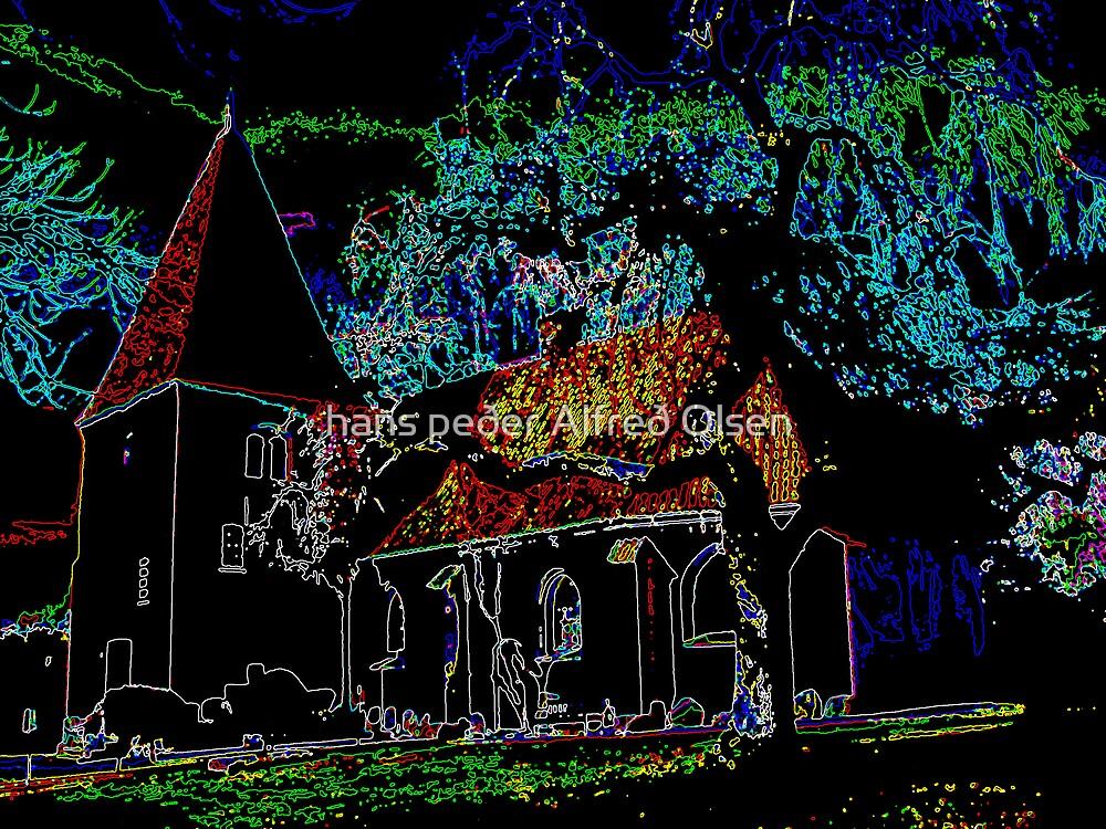 Aunede Church, Lolland by hans p olsen