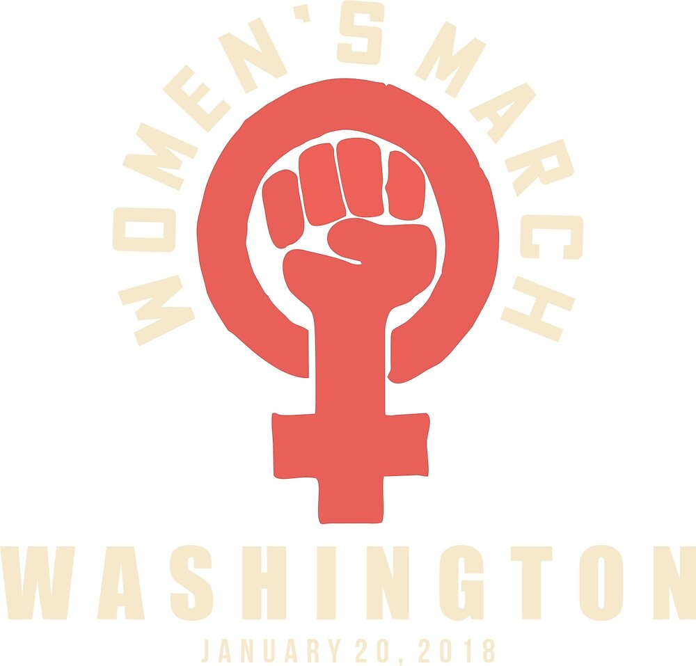 Women's march washington 2018 by yusniah